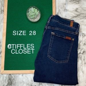 7 for all mankind Skinny Jeans | size 28